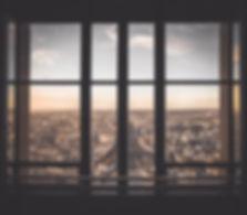 Vista urbana dalla finestra