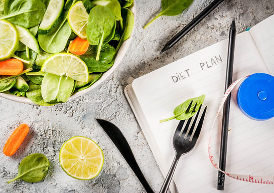 Plano de dieta