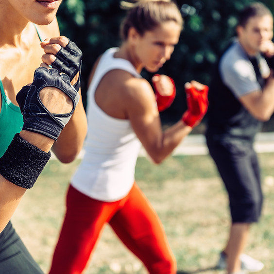 Boxercise on the Green