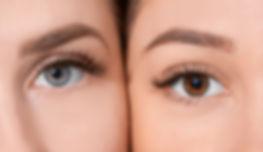 eyelash extensions and eyebrow waxing
