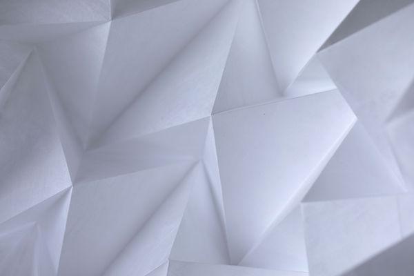 Arte de papel abstracto
