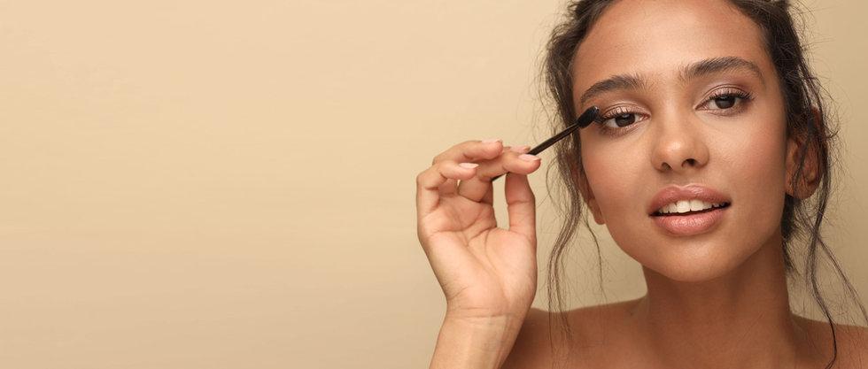 Tillämpar Mascara