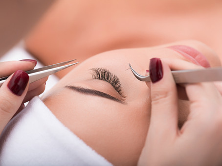 Eyelash Extensions Care Sheet
