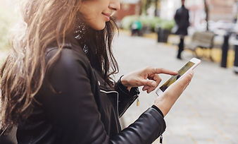 Woman on Her Smart Phone
