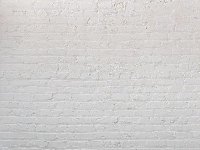 beyaz tuğla duvar