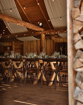 Wooden Event Interior