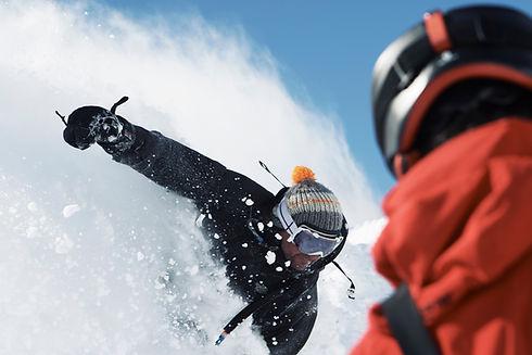 ski hors piste hélicoptère