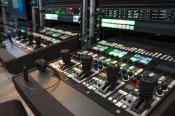 スタジオの音響設備