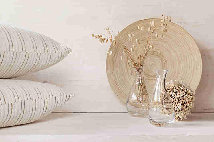 utilise patterns for minimalist home