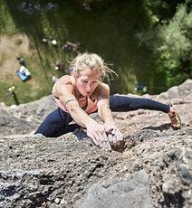 Escalador femenino