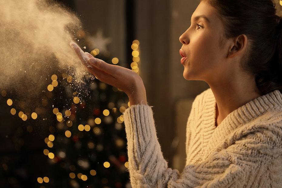 Blowing Flour