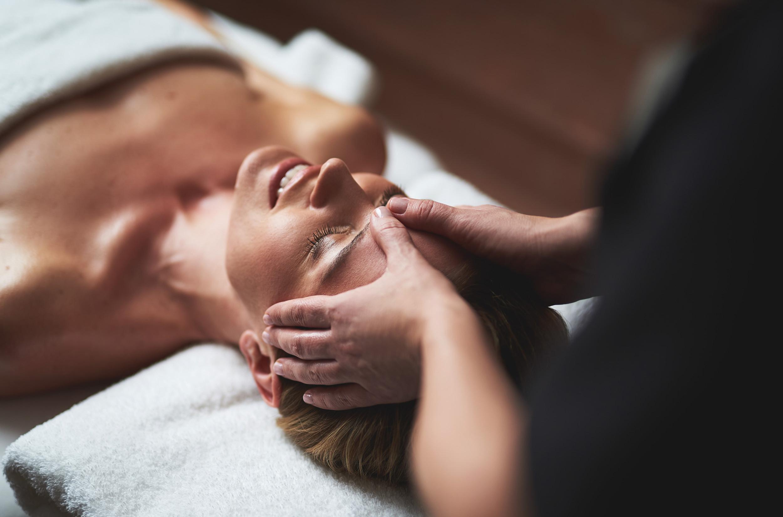 Indian Head Massage  - lying down