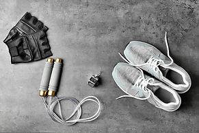 Joggingausrüstung