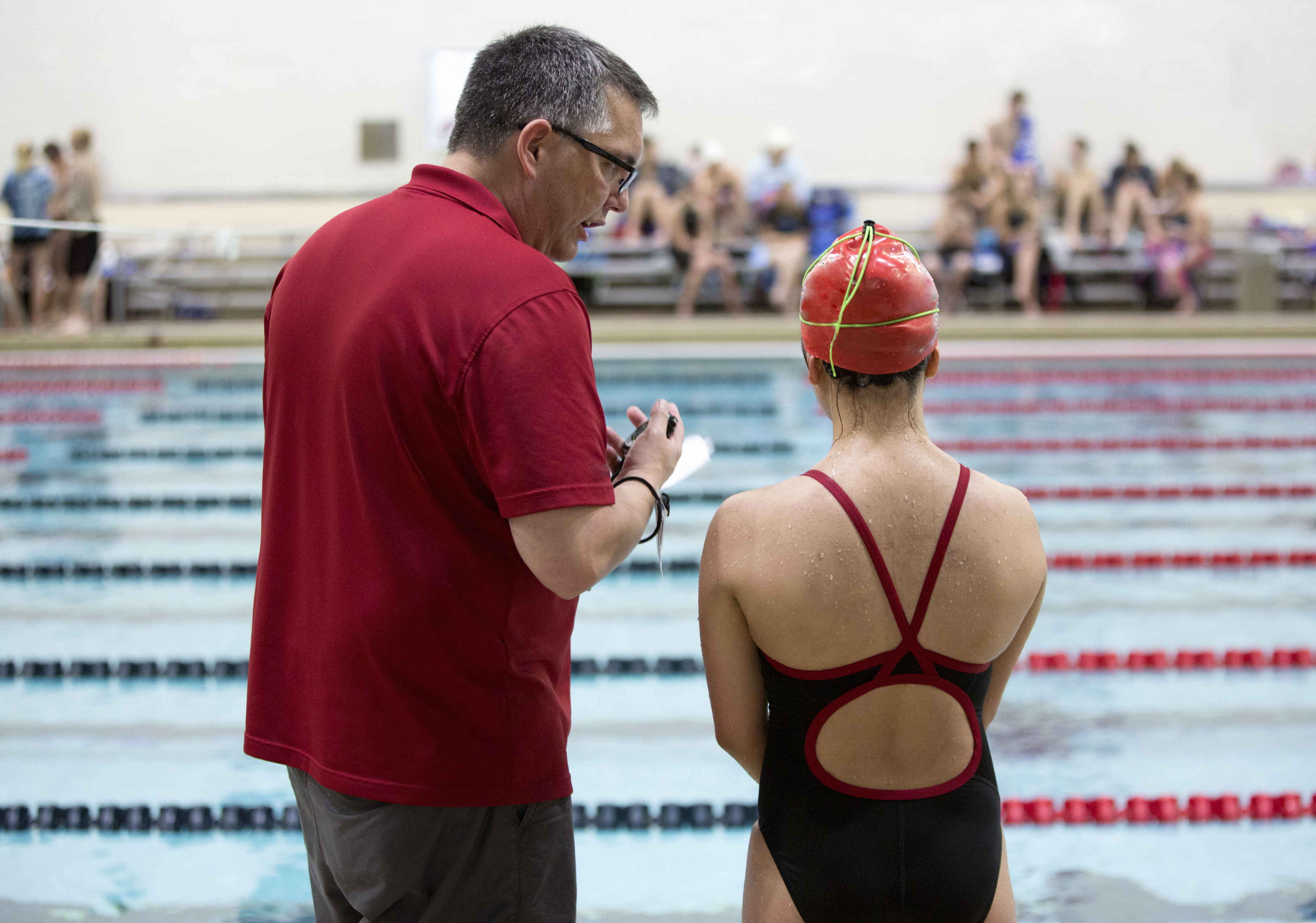 Treinador de natação