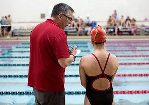 Coach de natation