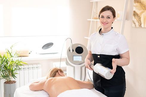Retrato de massagista