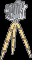 Câmera de grande formato