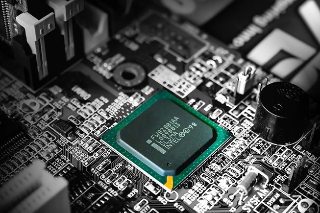 A CPU in a Computer