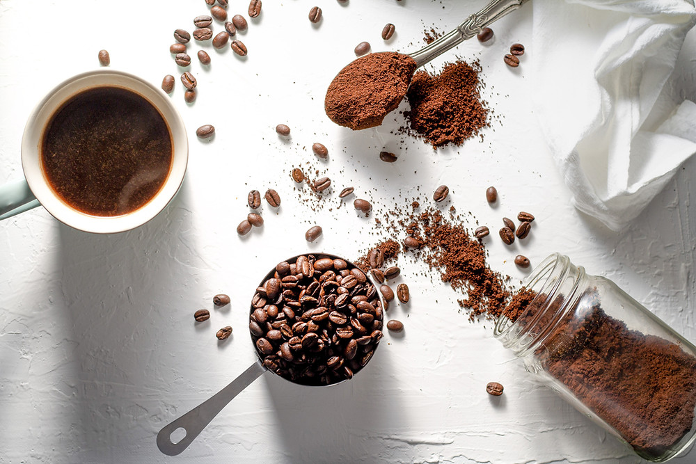 coffee grinds, coffee filters, coffee beans, coffee grounds, coffee grind fertilizer, coffee grounds fertilizer