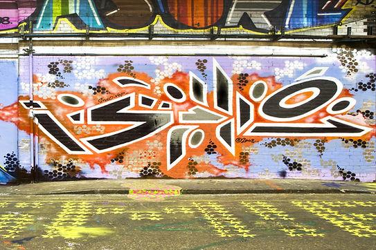 Brick Wall Graffiti