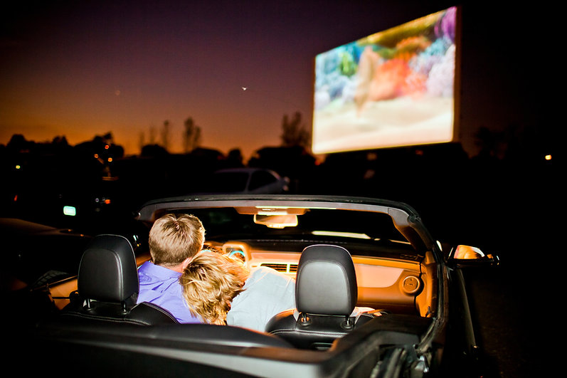 Drive-in cinema Cornwall