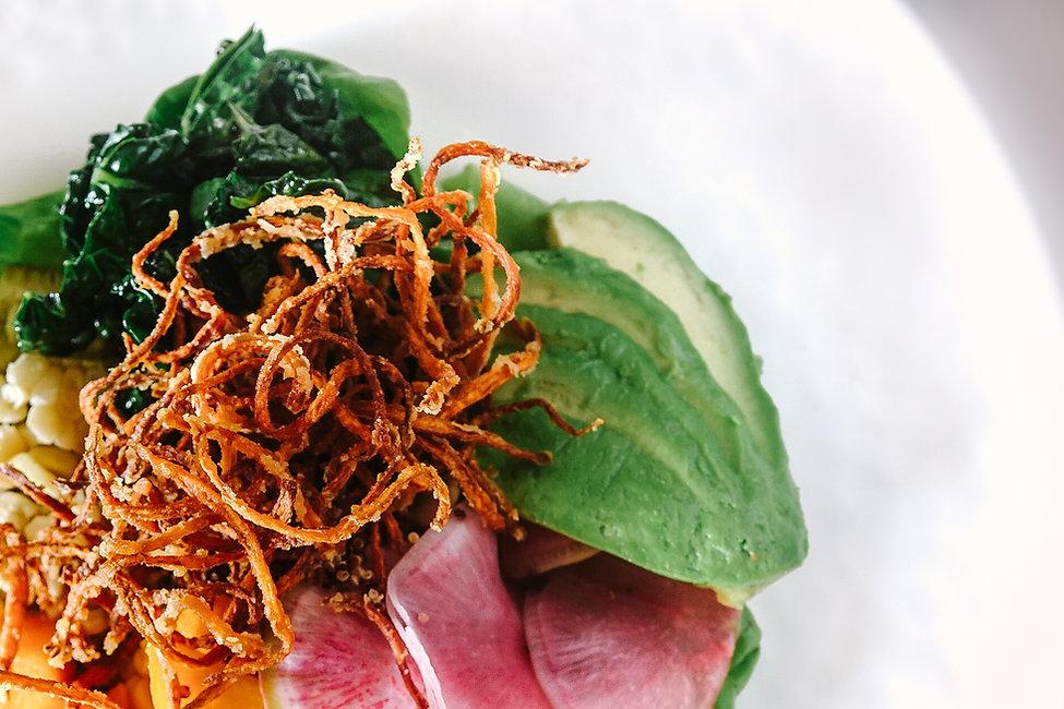 Salad with Crispy Onions