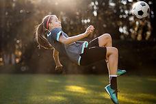 Jogadora de futebol