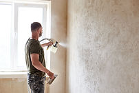 Paintin the wall