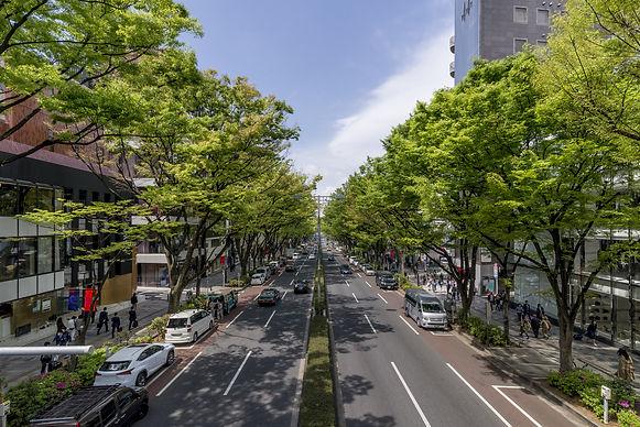 都会の街並み