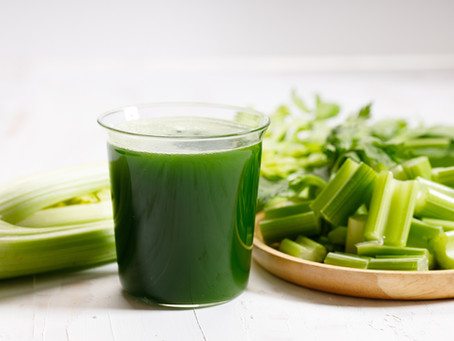 This is what happened when I tried celery juice