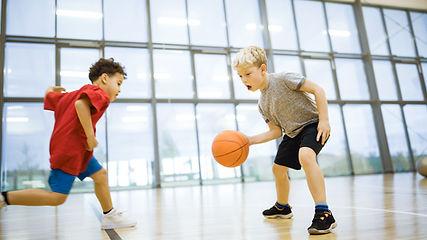 Giocando a basket