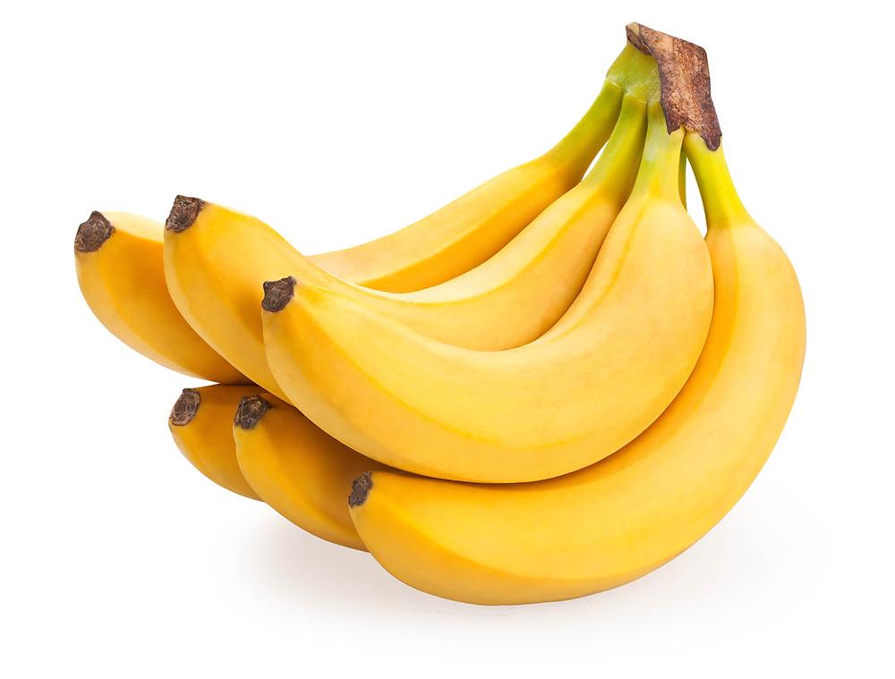 Banaanin B6-vitamiini helpottaa PMS-oireita.