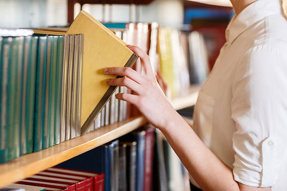 Choix de livres de bibliothèque