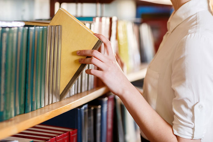 Scelta del libro della biblioteca