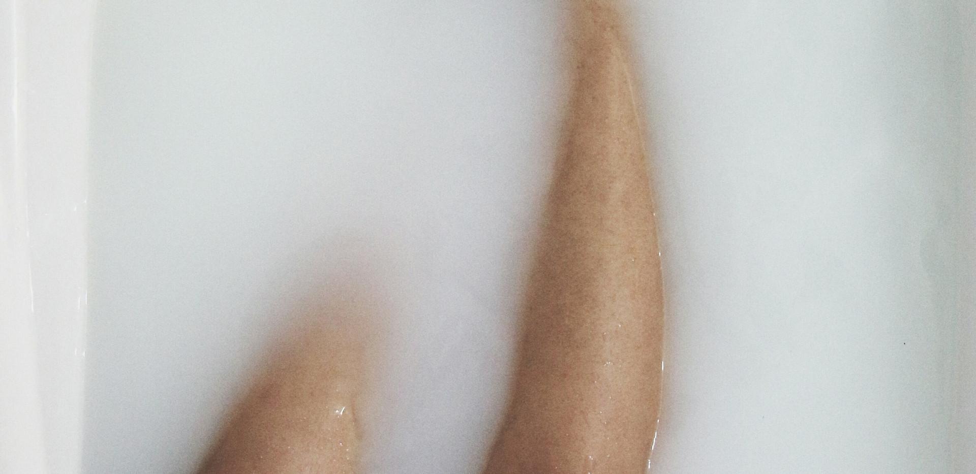 Feet in Bathtub