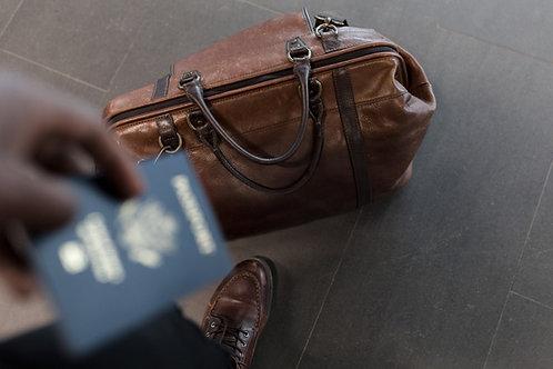パスポート全頁認証