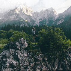 Practicing Yoga in Nature