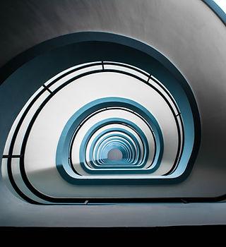 Escalier de bâtiment public