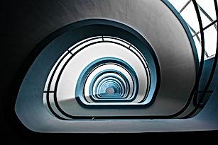 Escadaria do edifício público