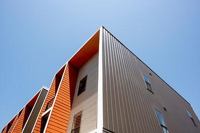 Modernes Wohnprojekt