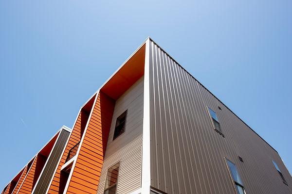 Modernt bostadsprojekt