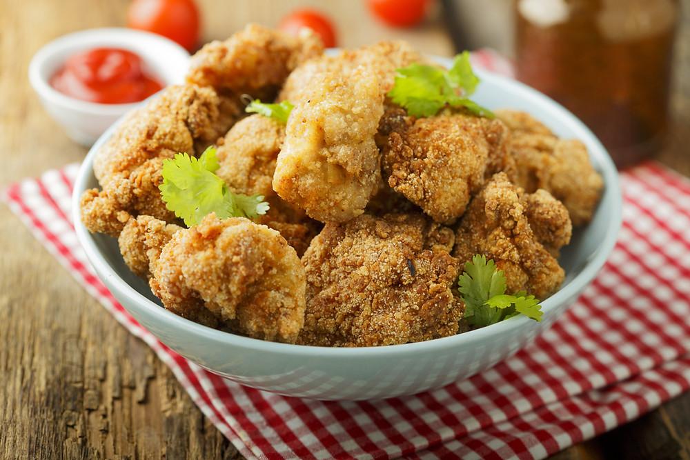 Oven baked crumb chicken