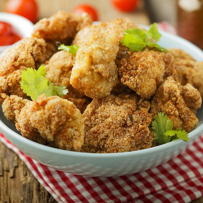 16/04 - Nuggets di pollo croccanti ai corn flakes e maionese fatta in casa