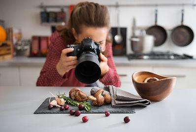 Il cibo fotografo