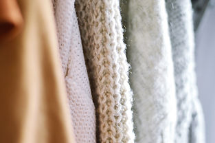 Knitted Sweaters Up Close