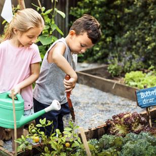 5 easy garden crafts