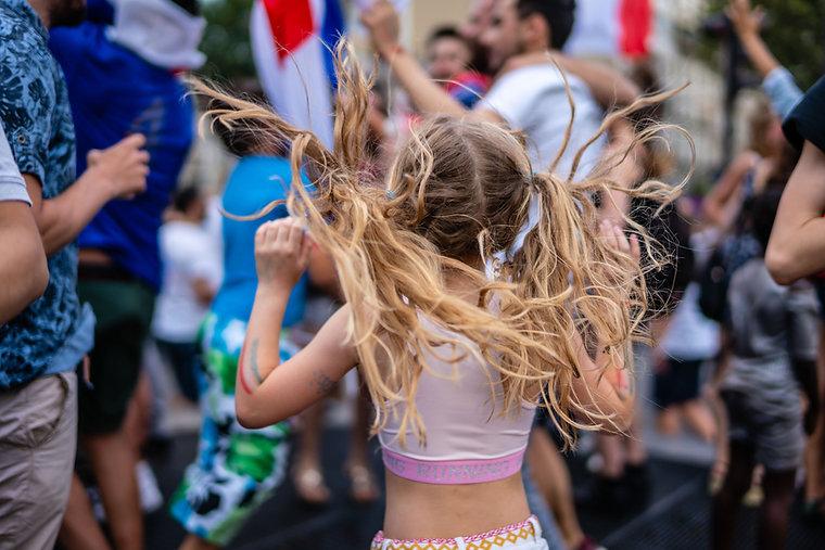 Tančící dítě
