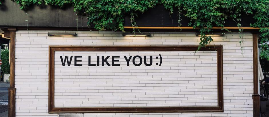 Do customers like you or your brand?