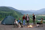 Camping de amigos