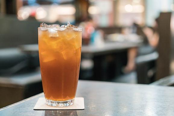 Blood Orange Basil Iced Tea